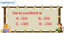 Bài 6.22 trang 186 SBT đại số 10