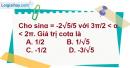 Bài 6.23 trang 186 SBT đại số 10