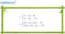 Bài 11 trang 212 SBT đại số 10