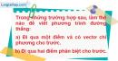 Bài 5 trang 108 SGK Hình học 12 Nâng cao