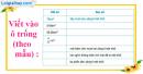 Bài 1 trang 116 sgk toán 5