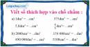 Bài 2 trang 117 sgk toán 5