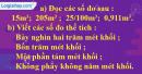 Bài 1 trang 118 sgk toán 5