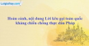 Chủ tịch Hồ Chí Minh ra Lời kêu gọi toàn quốc kháng chiến trong hoàn cảnh nào? Nêu nội dung Lời kêu gọi... đó.