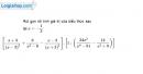 Bài 1 trang 148 Vở bài tập toán 8 tập 2