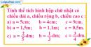 Bài 1 trang 121 SGK toán 5