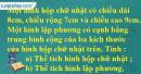 Bài 3 trang 123 sgk toán 5