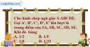 Bài 1 trang 170 SBT hình học 12