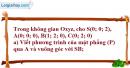 Bài 10 trang 170 SBT hình học 12