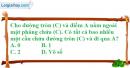 Bài 11 trang 172 SBT hình học 12