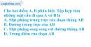 Bài 12 trang 172 SBT hình học 12
