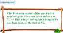 Bài 16 trang 173 SBT hình học 12