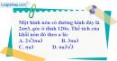 Bài 18 trang 173 SBT hình học 12
