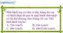 Bài 20 trang 173 SBT hình học 12
