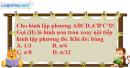 Bài 4 trang 171 SBT hình học 12
