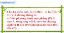 Bài 5 trang 169 SBT hình học 12
