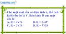 Bài 7 trang 171 SBT hình học 12
