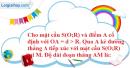 Bài 8 trang 171 SBT hình học 12