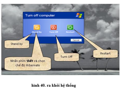 Tin học 10 Bài tập và thực hành 3: Làm quen vói hệ điều hành | Giải bài tập Tin học 10 hay nhất tại VietJack