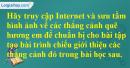 Câu 6 trang 81 Sách Giáo Khoa (SGK) Tin Học 9