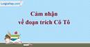 Cảm nhận của em về đoạn trích Cô Tô (Ngữ văn 6 - Tập II) trong tác phẩm cùng tên của Nguyễn Tuân.