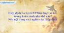 Hiệp định Sơ bộ Việt - Pháp ngày 6 - 3 - 1946 được kí kết trong hoàn cảnh như thế nào? Nêu nội dung và ý nghĩa của Hiệp định