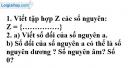 Trả lời câu hỏi ôn tập chương 2 phần Số học trang 98 SGK toán 6 tập 1