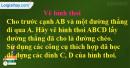 Câu 9 trang 103 SGK Tin học 8