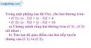 Bài 17 trang 203 SBT Hình học 10