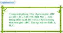 Bài 2 trang 201 SBT Hình học 10