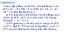 Bài 20 trang 203 SBT Hình học 10