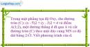 Bài 9 trang 202 SBT Hình học 10