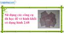 Câu 4 trang 115 SGK Tin học 8