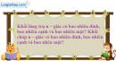 Câu hỏi 1 trang 30 SGK Hình Học 12 nâng cao
