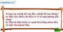 Câu hỏi 1 trang 62 SGK Hình Học 12 nâng cao