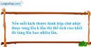 Câu hỏi 4 trang 30 SGK Hình Học 12 nâng cao