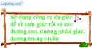 Câu 6 trang 132 SGK Tin học 7