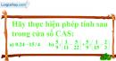 Câu 2 trang 60 SGK Tin học 6