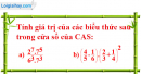 Câu 3 trang 60 SGK Tin học 6