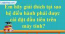 Câu 6 trang 65 SGK Tin học 6
