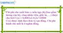 Bài 67 trang 58 SGK giải tích 12 nâng cao