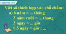 Bài 2 trang 131 sgk toán 5