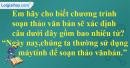 Câu 1 trang 108 SGK Tin học lớp 6