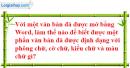 Câu 2 trang 122 SGK Tin học lớp 6