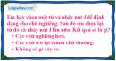 Câu 3 trang 122 SGK Tin học lớp 6