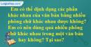 Câu 4 trang 122 SGK Tin học lớp 6
