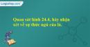 Quan sát hình 24.4, hãy nhận xét về sự thức ngủ của lá.