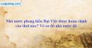 Nhà nước phong kiến Đại Việt được hoàn chỉnh vào thời nào ?