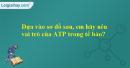 Dựa vào sơ đồ sau, em hãy nêu vai trò của ATP trong tế bào?