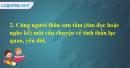 C. Hoạt động ứng dụng - Bài 33A: Lạc quan, yêu đời